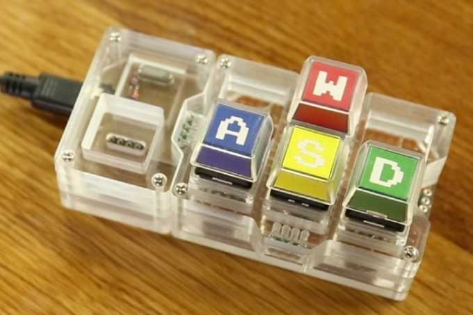Токийские студенты создали модульную мини-клавиатуру без лишних клавиш